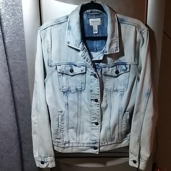 Forever 21 Jackets & Blazers - Forever 21 Jean Jacket Size Large